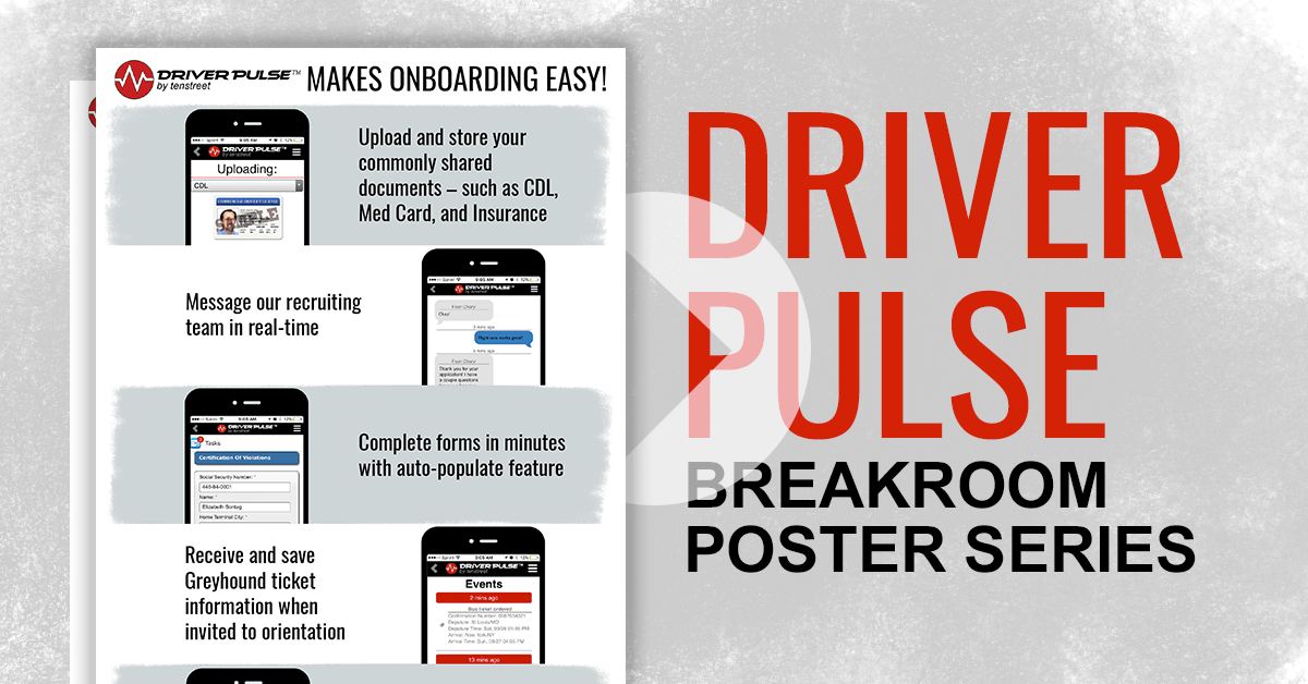 Driver Pulse Poster Series