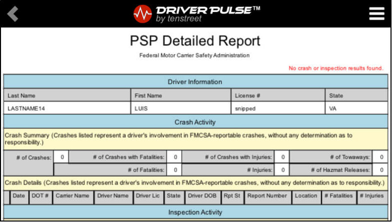 Driver Pulse PSP 5