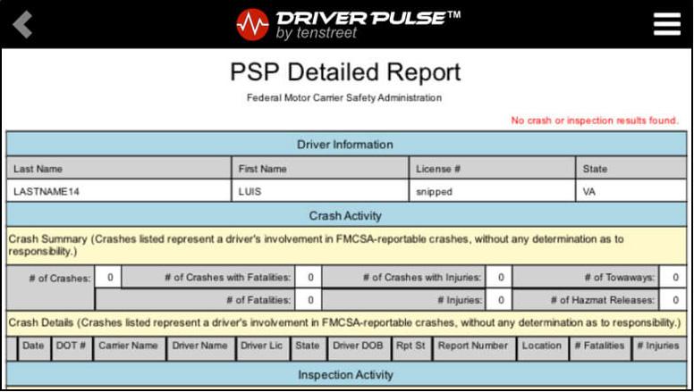 Driver Pulse PSP 5