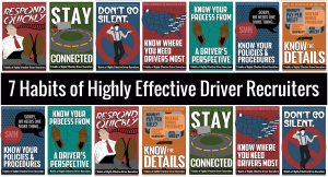 7 Habits of Highly Effective Driver Recruiters - Revisited