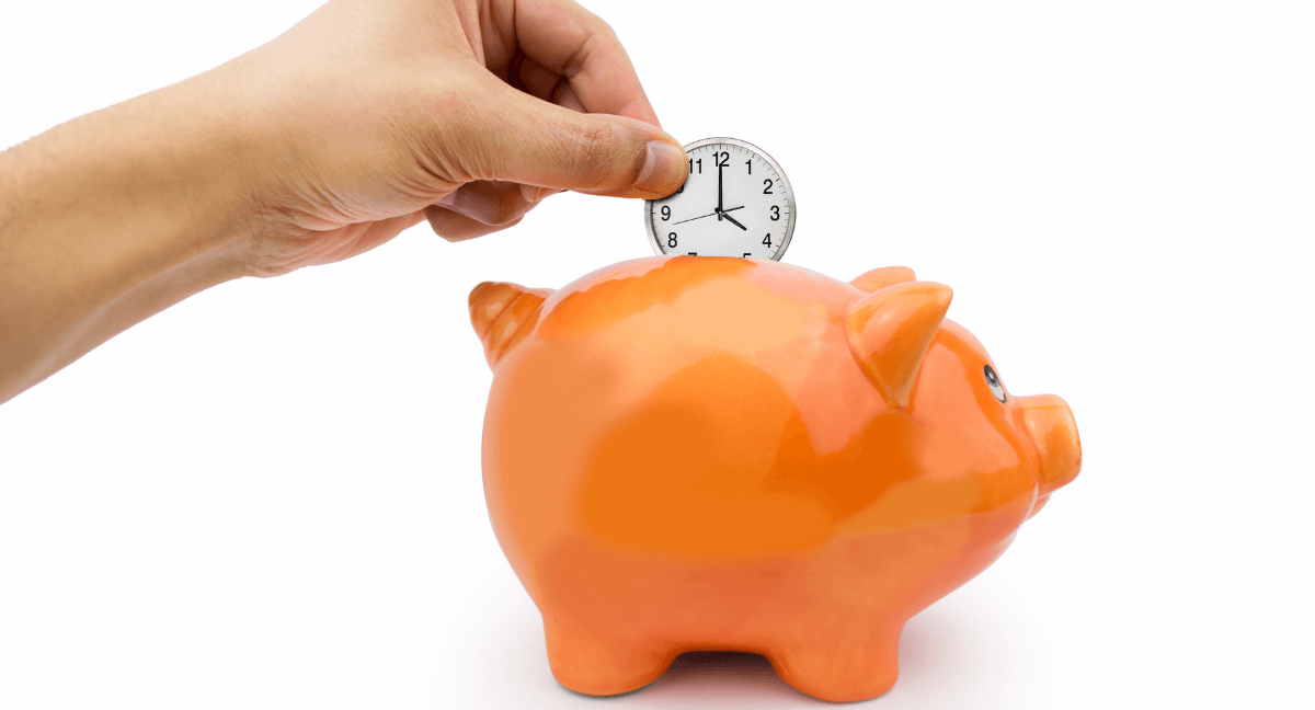 Saving Time In A Piggy Bank